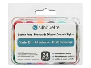 craft & hobbies: Silhouette Sketch Pen Starter Kit
