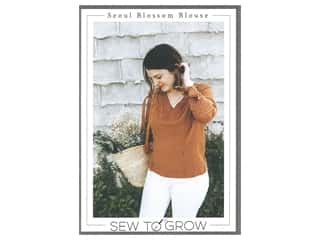 books & patterns: Sew To Grow Seoul Blossom Blouse  Pattern