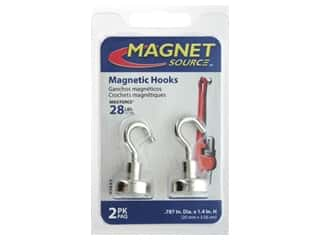The Magnet Source Magnet Hook .787 in. 28# 2 pc