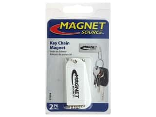 craft & hobbies: The Magnet Source Magnet Key Chain White 2 pc