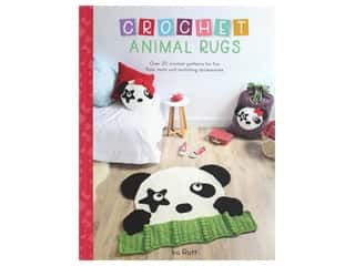 Sewandso by F & W Publishing Crochet Animal Rugs Book