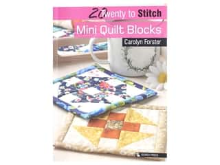 Search Press Twenty To Stitch Mini Quilt Blocks Book