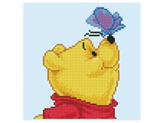 craft & hobbies: Diamond Dotz Facet Art Kit Intermediate Disney Winnie the Pooh & Butterfly