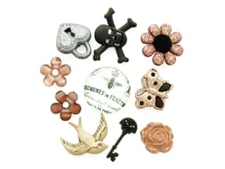 craft & hobbies: Jesse James Embellishments Steampunk