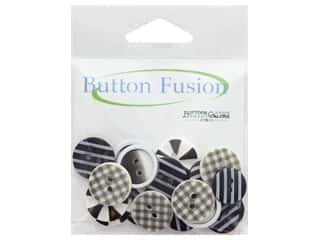 cover button: Buttons Galore Button Fusion 20 pc. Optical Illusion