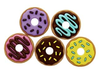 craft & hobbies: Jesse James Embellishments Donut Party