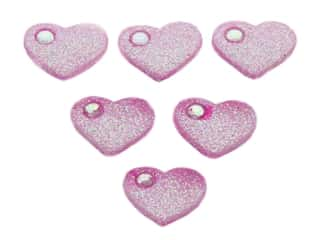 novelties: Jesse James Embellishments Rhinestone Hearts
