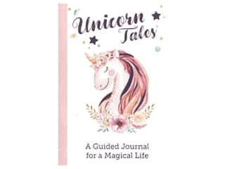 books & patterns: Leisure Arts Unicorn Tales Guided Journal Book