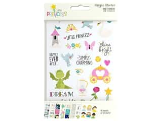 Simple Stories Collection Little Princess Sticker 4 in. x 6 in.