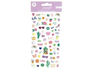 scrapbooking & paper crafts: American Crafts Sticker Mini Puffy Journal Studio