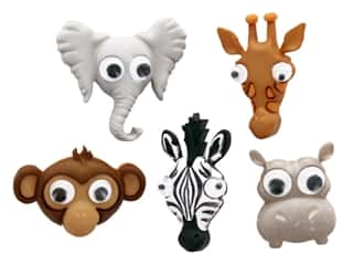 craft & hobbies: Jesse James Embellishments - Life's A Zoo