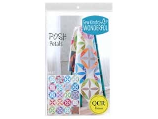 Sew Kind Of Wonderful QCR Posh Petals Pattern