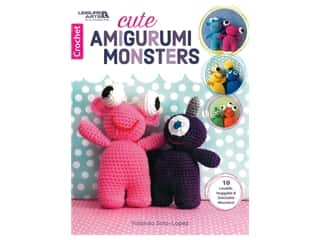 Leisure Arts Cute Amigurumi Monsters Book