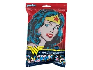 beading & jewelry making supplies: Perler Fused Bead Kit Wonder Woman 3500 pc