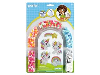 beading & jewelry making supplies: Perler Fused Bead Kit Unicorn 2000 pc