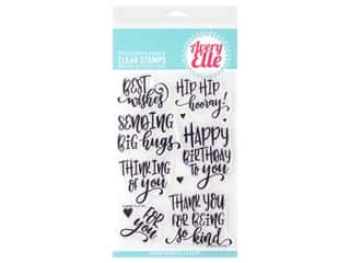 scrapbooking & paper crafts: Avery Elle Clear Stamp So Kind