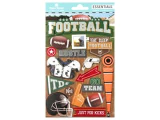 scrapbooking & paper crafts: Paper House Sticker Essentials Football