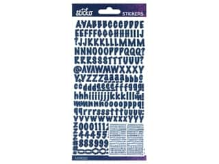 EK Sticko Stickers ABC Marker Small Cobalt