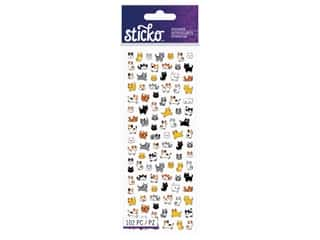 scrapbooking & paper crafts: EK Sticko Stickers Tiny Cats