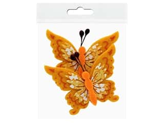 Sierra Pacific Decor Felt Animals Sticky Back Butterfly 2 pc (6 pieces)