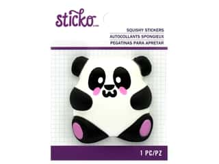 Sticko Squishy Stickers - Panda