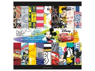 SandyLion Paper Pad Disney Boy Mega 12 in. x 12 in.
