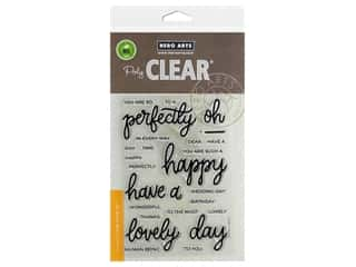 stamp cleared: Hero Arts Poly Clear Stamp Mix & Match Compliments