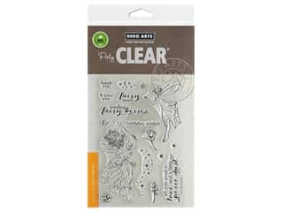 scrapbooking & paper crafts: Hero Arts Poly Clear Stamp Fairy Kisses