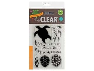 Hero Arts Poly Clear Stamp Color Layering Sea Turtle