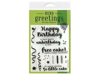 Hero Arts Poly Clear Stamp Greetings Cheeky Birthday