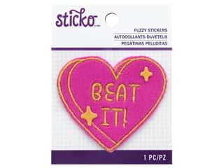 EK Sticko Stickers Fuzzy Beat It