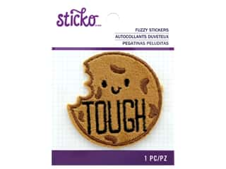 EK Sticko Stickers Fuzzy Tough Cookie