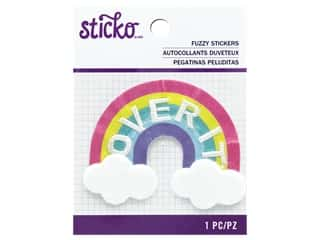 scrapbooking & paper crafts: EK Sticko Stickers Fuzzy Over It