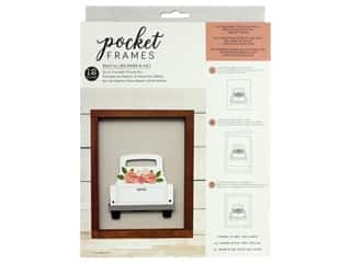 American Crafts Collection Details 2 Enjoy Pocket Frames DIY 8 in. x 10 in. Truck Kit