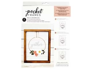 American Crafts Collection Details 2 Enjoy Pocket Frames DIY 8 in. x 10 in. Gather Wreath Kit