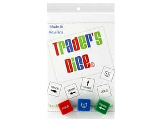 novelties: Stitchin Tree Traders Dice