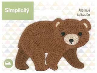 Simplicity Applique Iron On Bear