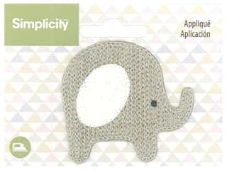 Simplicity Applique Iron On Elephant