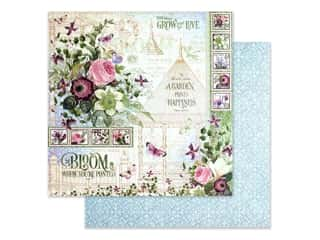 Graphic 45 Collection Bloom Paper 12 in. x 12 in. (25 pieces)