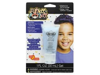 craft & hobbies: Funkee Munkee Temporary Colored Hair Gel Jellyfish Blue