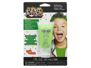 craft & hobbies: Funkee Munkee Temporary Colored Hair Gel Monster Green