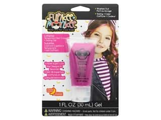 craft & hobbies: Funkee Munkee Temporary Colored Hair Gel Lollipop Pink