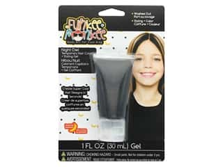 craft & hobbies: Funkee Munkee Temporary Colored Hair Gel Night Owl Black