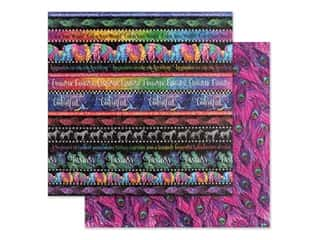 Graphic 45 Collection Kaleidoscope Paper 12 in. x 12 in. Rainbow of Color (25 pieces)