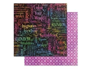 Graphic 45 Collection Kaleidoscope Paper 12 in. x 12 in. Fantastic Fantasy (25 pieces)