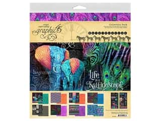 Graphic 45 Collection Kaleidoscope Collection Pack 12 in. x 12 in.