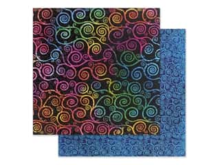 scrapbooking & paper crafts: Graphic 45 Collection Kaleidoscope Paper 12 in. x 12 in. Boldly Brilliant (25 pieces)