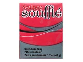 Sculpey Souffle Clay 1.7 oz. Raspberry
