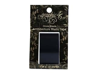 scrapbooking & paper crafts: Graphic 45 Staples Architctre Washi Tape Gloss Black
