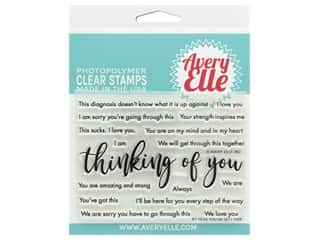 stamp cleaned: Avery Elle Clear Stamp You've Got This